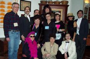 Cast of Classic 1930s Downloadable DIY Murder Mystery Party Kit: The Cat Screamed at Midnight from Janine Kilty in Pittsford, New York