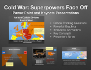 Cold War Superpowers Face Off PowerPoint