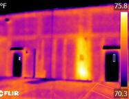 CMU Infrared Inspection by Look Thermography Corp, Block Wall Inspection