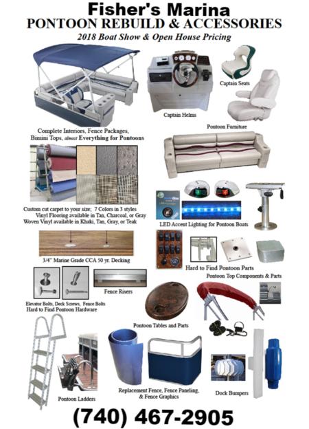 Pontoon Parts Boat Parts Outboard Motor Parts Parts