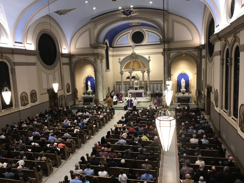 Immaculate Conception Catholic Church in Cedar Rapids, Iowa