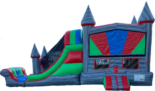 dual lane water slide dual lane slide bounce house slide rental