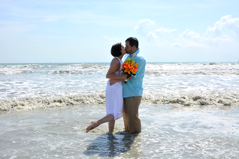 Beach Wedding in Cocoa Beach