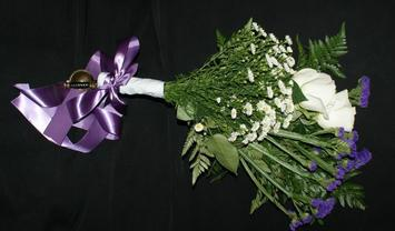 Sword wedding bouquet