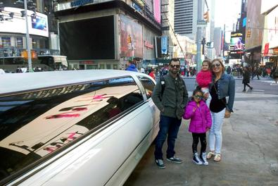 Times Square New York Limousine Tour