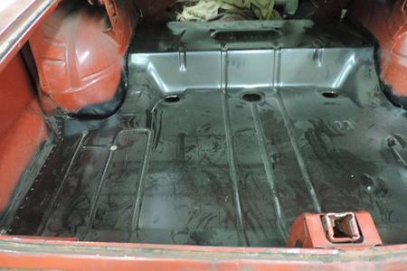 1964 Pontiac Tempest Trunk Floor And Quarter
