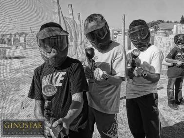 Birthday Party at TAG Paintball Hollister CA
