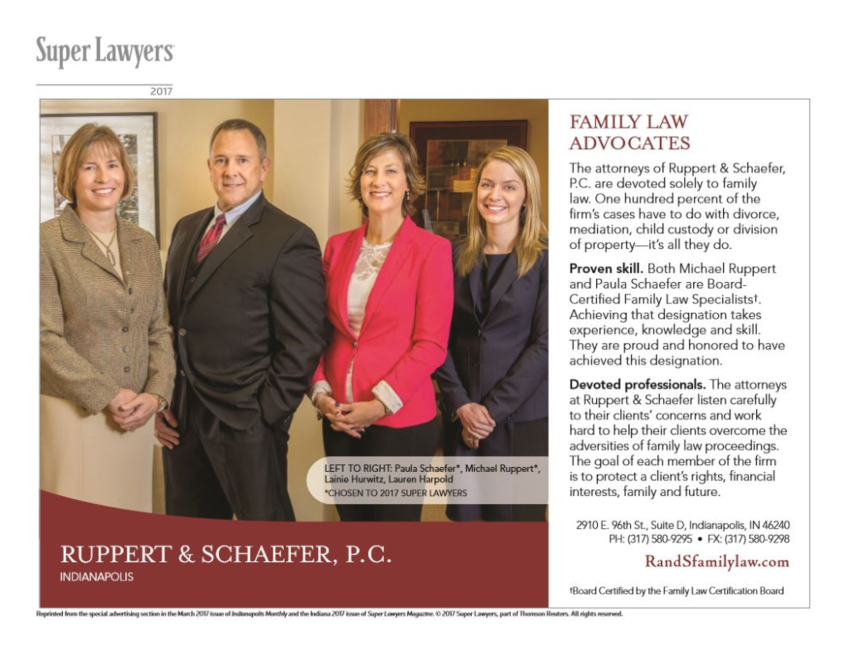 2017 Super Lawyers Indianapolis