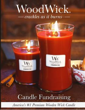 WoodWick Candle Fundraiser Brochure