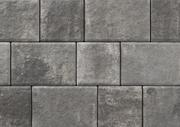 Unilock Driveway Permeable Paver Transition in Steel Mountain Color
