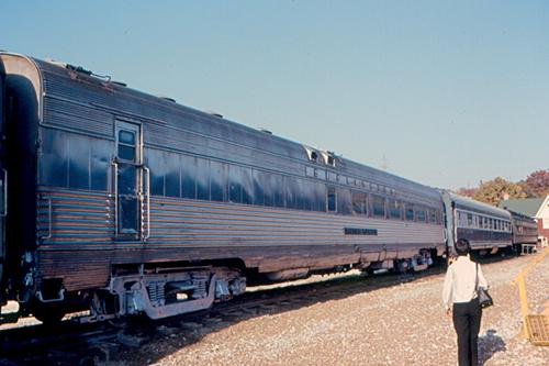 This Burlington Zephyr dining car Silver Spoon belongs to the National Museum of Transport in St. Louis.