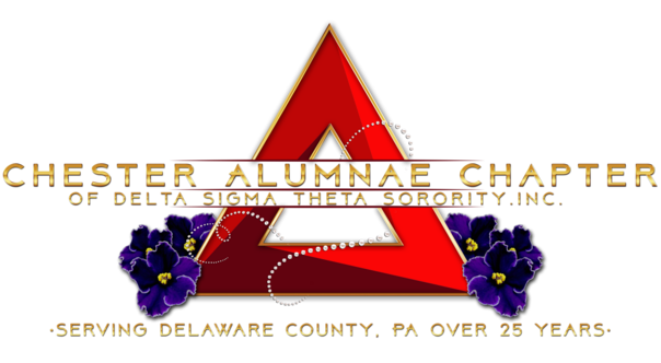 Chester Alumnae Chapter of Delta Sigma Theta in Delaware County.