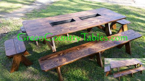 Picnic Table And Bench Pricing - Picnic table with removable benches