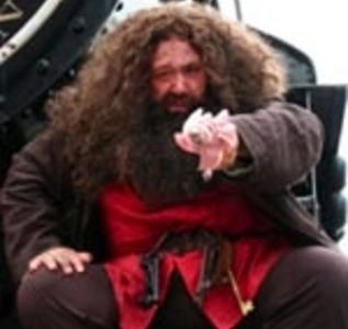 Hagrid {Potter characters} Safe, Fine, Singing Telegrams for Halloween and Party Characters For Kids. Serving Indiana, Chicago, Cook County & Du Page County, IL