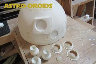 R2 D2 domekit pices