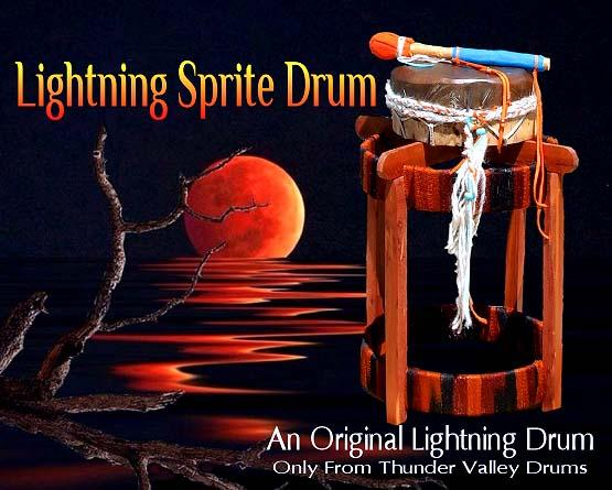 lightning sprite drum from thunder valley drums