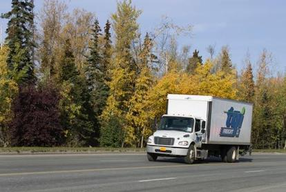 TGI has the right truck for the job! From box trucks to flat beds they can pick up from Fairbanks or Kenai