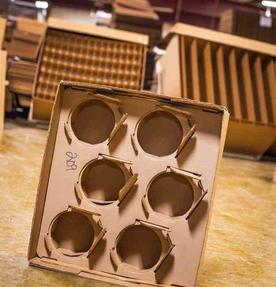 cardboard box and packaging supplies