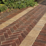 European old world street paver