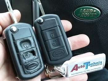 Land Rover remote key