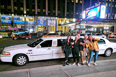Madison Square Garden Limo rental
