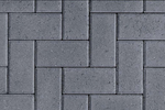 Unilock Concrete Hollandstone Paver in Charcoal color