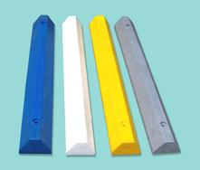 Plastic Parking Blocks are colorful and light weight