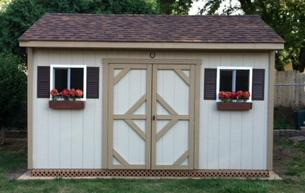 8X14 GABLE GARDEN SHED
