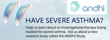 Severe Asthma Study - Now Enrolling