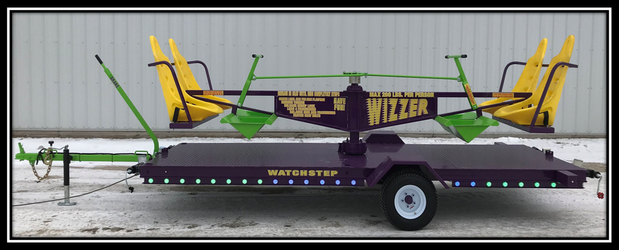 Wizzer ride for rent with lights
