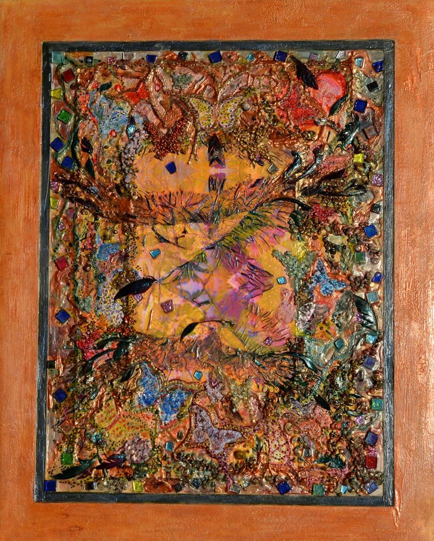 native american art series of encaustic fine art originals by