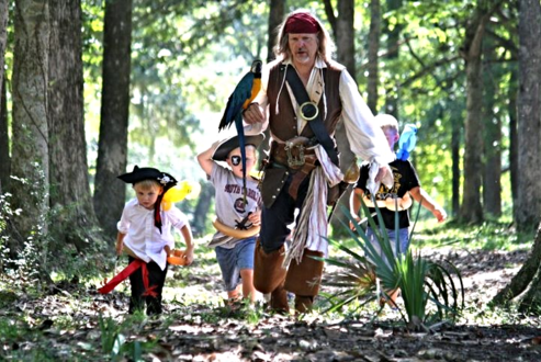 Pirate Birthday Party Charleston SC