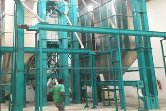 150T maize milling machine automatic factory