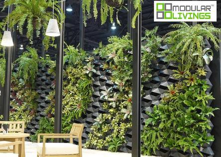 (Wall planter,Vertical garden,Living wall,Green wall) - DIY Living Wall Planters