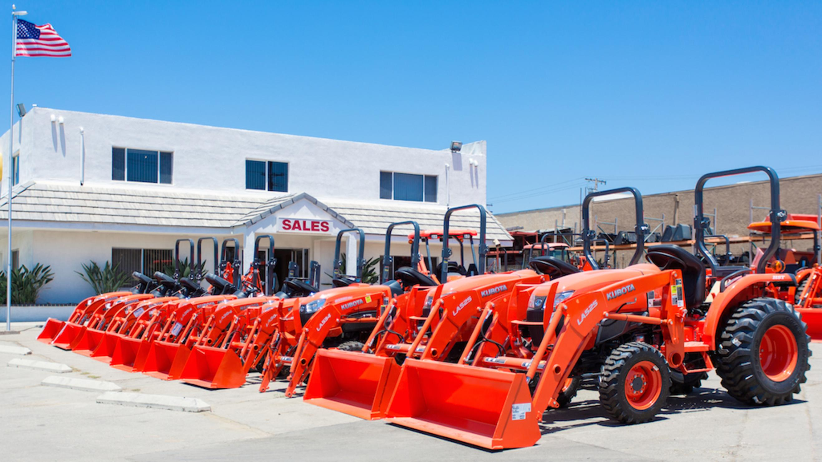 Equipment Dealership: Construction & Tractor sales in San Diego, Temecula, Escondido & Vista