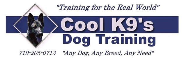 Logo- Cool K9's Dog Training