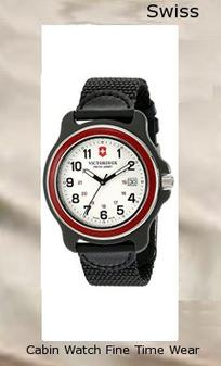 Victorinox Men's 249085 Original XL Swiss Quartz Watch With Black Nylon Band,swiss