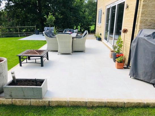 Porcelain patio in Wanstrow
