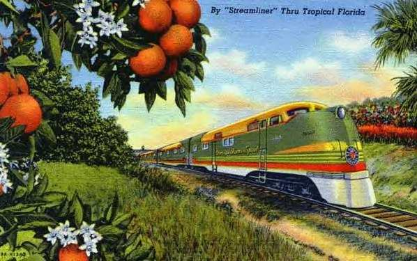The Seaboard Air Lines Orange Blossom Special.