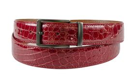 American Alligator Glossy Belts