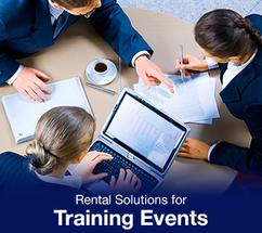 Rental Solutions for Coropora Training Events Duai