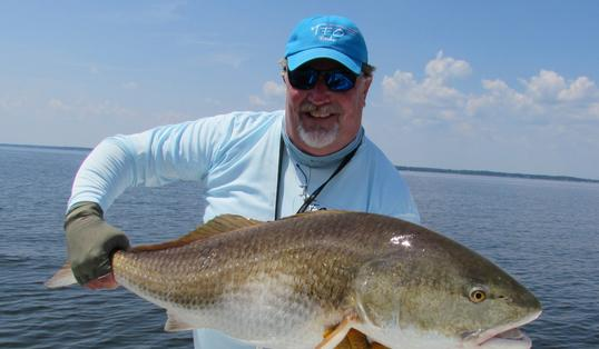 Neuse River giant red drum