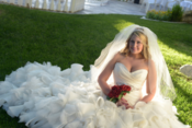 sunset gardens bride las vegas