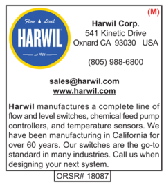 Harwil Corporation, Water Well Products
