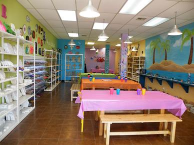 An art studio available for children near Houston, TX