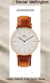 Product Specifications Watch Information Brand, Seller, or Collection Name Daniel Wellington Model number Classic Durham Part Number DW00100109 Item Shape Round Dial window material type Mineral Display Type Analog Clasp Buckle Case material Stainless Steel Case diameter 36 millimeters Case Thickness 6.5 millimeters Band Material Brown Leather Band width 20 millimeters Band Color Brown Dial color White Bezel material Fixed Rose Gold-tone Movement Quartz Water resistant depth 30 Meters,
