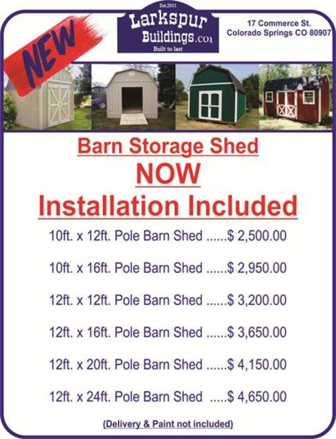 Storage Shed, Barn Shed, Sheds