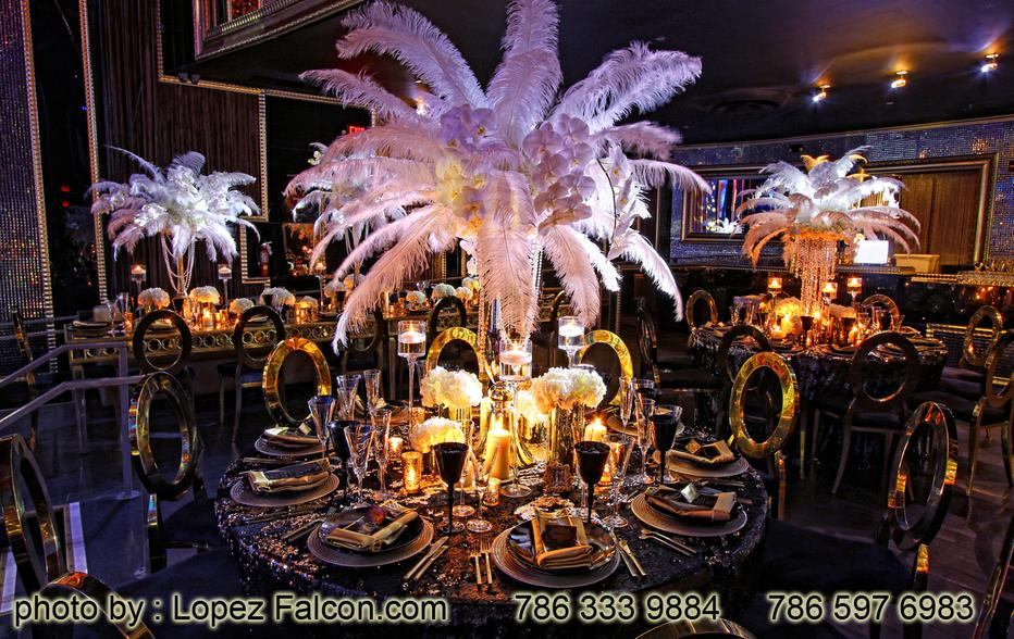 Great Gatsby Quinceanera Centerpieces Decoration party