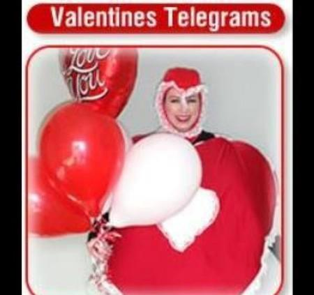 Home Delivery: Chicago Singing Telegrams – Same Day. Costumed, locally delivered: Cook County, IL. Chocolates, roses, balloons. Valentine's Day Candy & Gifts. Chicago Singing Telegrams 5 STAR RATED. Hire a Safe, Driveway-singing telegram in front of your house. Singing Telegram: Heart, Cupid, Pink Gorilla, Hairy Fairy - Same Day $125. Chicago Singing Telegrams 5 STAR ratings. A Safe, Driveway-sChicago Singing Telegrams for Valentine's Day, corporate events, festivals, block party. Hire Barbershop Singers, Same Day Balloon Deliveries