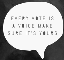 Every Vote is a Voice Make Sure It's Yours